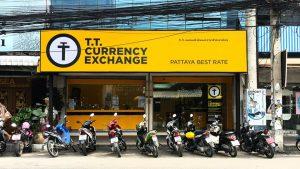 Обменник валюты в Паттайе