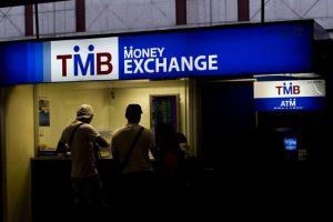 Обменник валюты на Пхукете