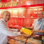 Покупка золота в Таиланде